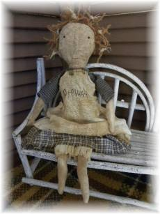 Orphan-primitive doll, primitive cloth doll, primitive rag doll, doll, handmade, raggedy old doll, old cloth doll, antique cloth doll, antique, vintage