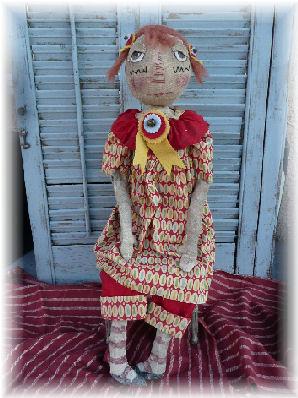 Olde Tyme Ann Doll Pattern
